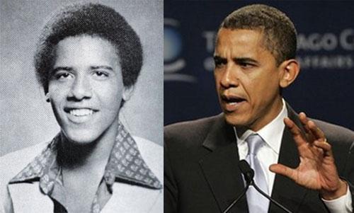 Политики Америки в молодости (7 фото)