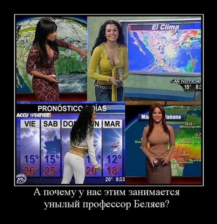 Ведущие прогноза погоды на ТВ (36 фото)
