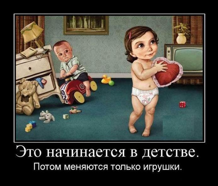 Это начинается в детстве