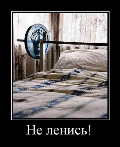 Не ленись!