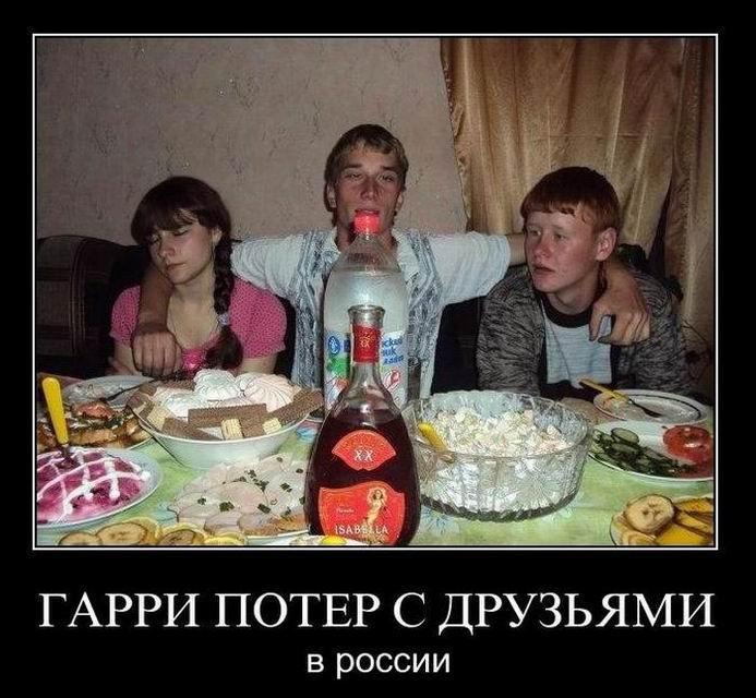 Демотиваторы про бездомных котят, иностранцев в России и свадьбу со знаком плюс (253 часть, 50 фотографий)