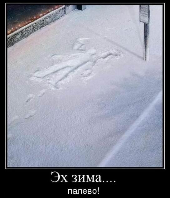 Эх, зима! Палево!