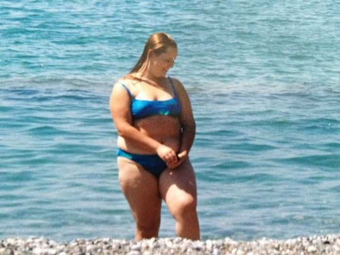 The transformation from bbw into a slim beauty
