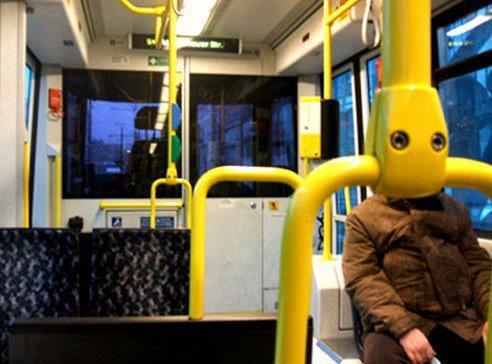Фотожаба: В автобусе (19 фото)