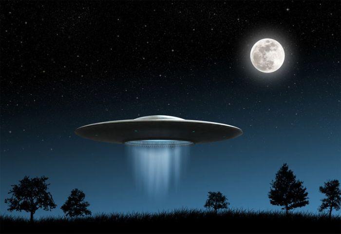 Неопознанный летающий объект - НЛО