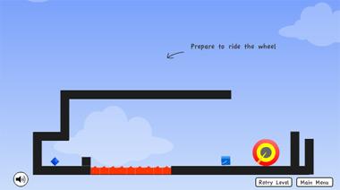 Синяя коробка (flash игра)