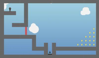 Agent Platformer (flash игра)