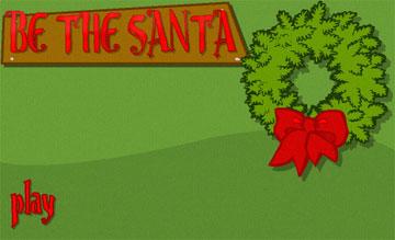 Помоги Дед Морозу (flash игра)