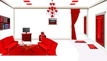 Красная комната. Выбираемся! (flash игра)