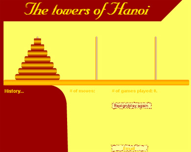 Ханойская башня - тест на iq