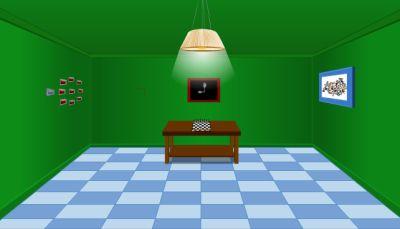 Зеленая комната. Выбираемся! (flash игра)