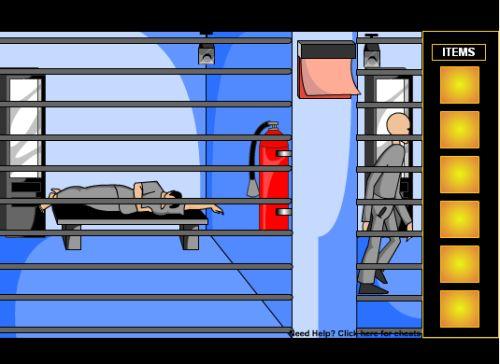 Побег из тюрьмы (flash игра)