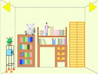 Очередная комната, цель - выйти (flash игра)