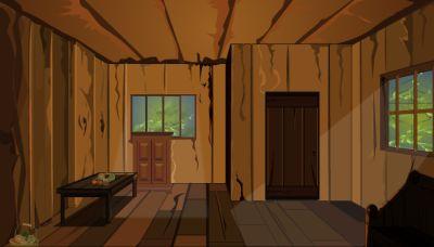 Выбираемся из деревянного домика (flash игра)