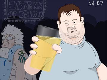 Готовимся к пятнице! Удержи кружку пива!