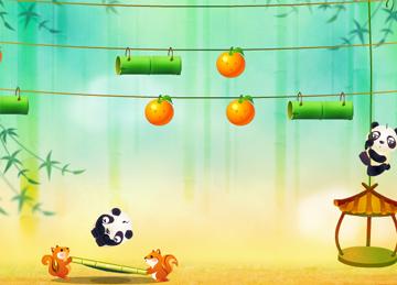 Прыгающая панда (flash игра)