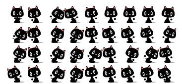 Вечерние танцующие котики (flash)