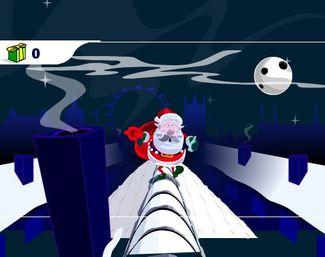 Помоги Дедушке Морозу донести подарки ;-)
