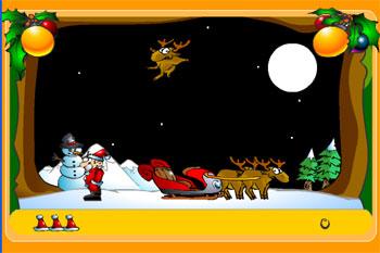 Собери подарки Деда Мороза