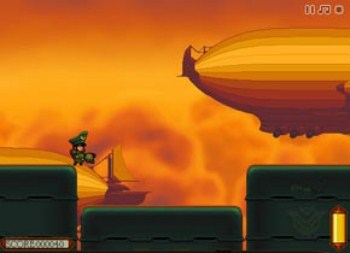 Dirk Valentine and The Fortress of Steam (flash игра)