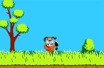В выходные все на охоту (ретро flash игра, 1984)