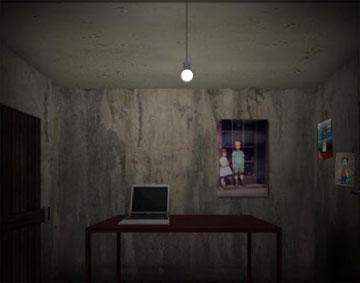 Находим девушку и выходим из комнаты (flash игра)