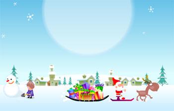 Достань свой подарок из снега!