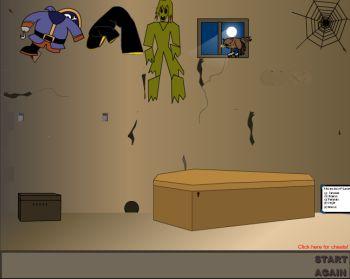 Всех с  Хэллоуином! Выбираемся из страшной комнаты.
