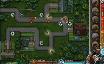 Haunted Suburb Tower Defense (flash игра)