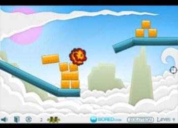 Kamikaze Blocks (flash игра)