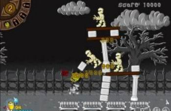 Kicking Zombie Heads (flash игра)