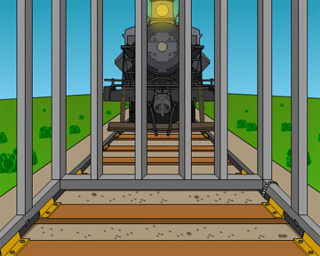 Выбираемся из клетки, пока поезд не...
