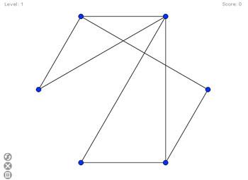 Непересекающиеся линии (flash игра)