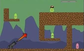 Mars Cannon 2 flash игра