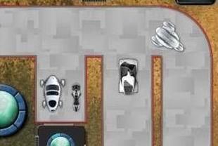 Moon Parking (flash игра)