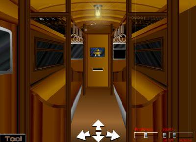 Выбираемся из поезда (flash игра)