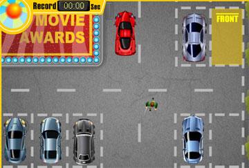 Очередная парковка машин (flash игра)