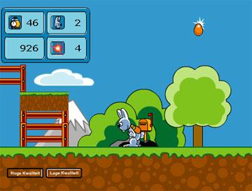 Пасхальный кролик (flash игра)