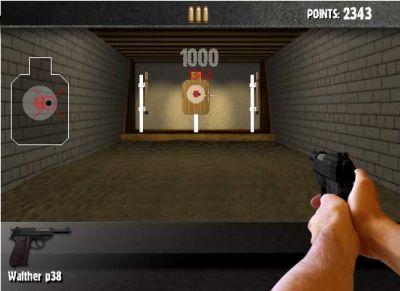 Учимся стрелять из пистолета в тире (flash игра)