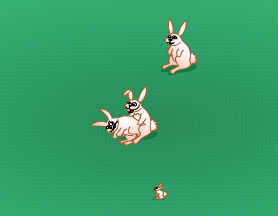 Разводим кроликов (flash игра)