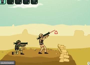 Rocket Soldiers (flash игра)