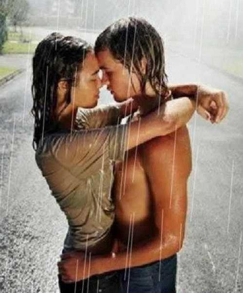 Любимому человеку. Kiss the Rain (супер flash)