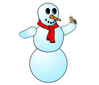 Собери снеговика!