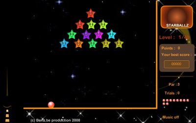 Игра  Starballz