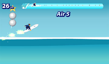 Серфинг (flash игра)