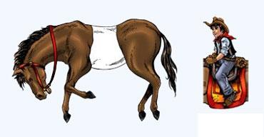 Усади всадников на лошадей (головоломка на понедельник)