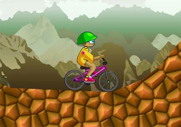 Погоняем на велосипеде (flash игра)
