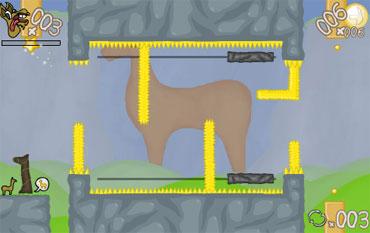 Vertigo Gravity Llama (flash игра)