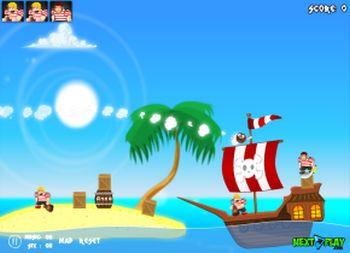 Angry Pirates (flash игра)