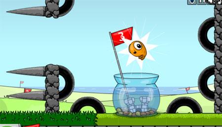 Crazy Golf-Ish flash игра